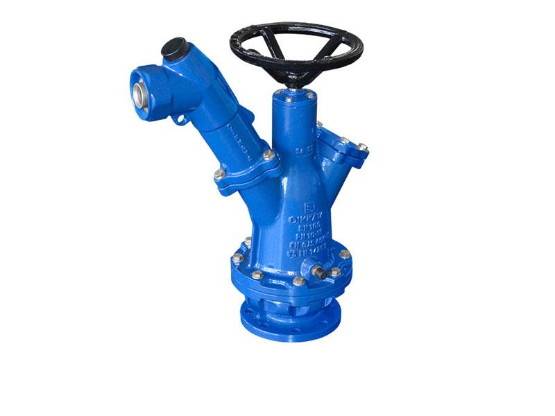 A Tipi Tek Kollu Sulama Hidranti Irrigation One Arm Hydrant Type A